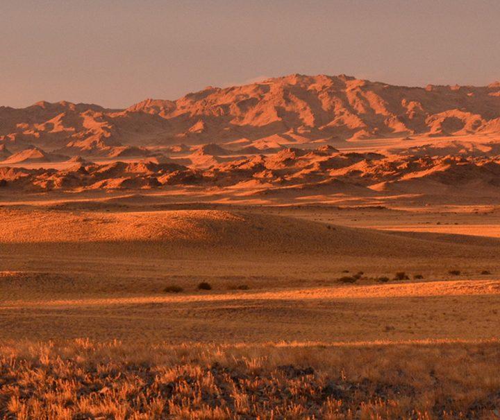 Das Altai-Gebirge ist aufgrund seiner schwer zugänglichen und isolierten Lage eine nahezu unberührte Region in der Mongolei.