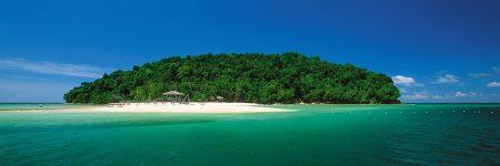 Der Tunku Abdul Rahman Park liegt vor der Küste von Kota Kinabalu im malaysischen Bundesstaat Sabah und umfasst fünf kleinere Inseln.