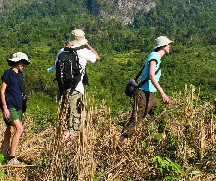 Die Bergwelt im Norden von Laos eignet sich mit faszinierenden, unberührten Landschaften hervorragend für ausgiebige Trekkingtouren.