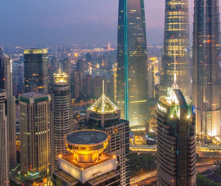 Shanghai ist Chinas bedeutendste Industriestadt und zählt zu den größten Städten der Welt.