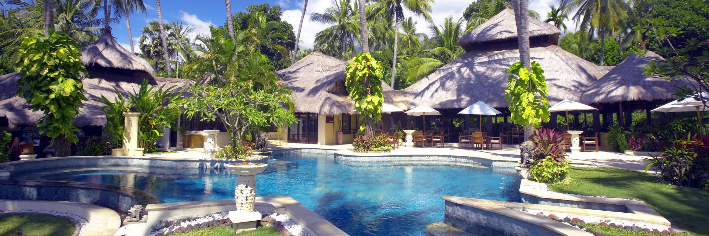 Das Alam Anda an der Nord-Ostküste Balis wird schon viele Jahre als Geheimtipp gehandelt und hat bereits heute Kultstatus.
