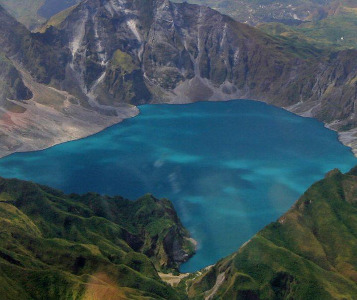 Der Mount Pinatubo ist ein aktiver Vulkan in Luzon auf den Philippinen