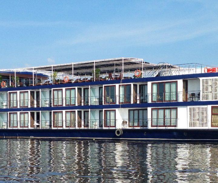 Auf der Mekong Adventurer können Sie in luxuriösem Ambiente eine Flusskreuzfahrt zwischen Vietnam und Kambodscha genießen.