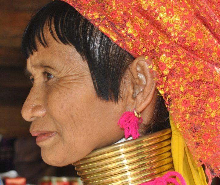 Der Stamm der Kayan Padaung, Langhals Frauen, ist einer der bekanntesten Stämme der Kayah im Osten Myanmars