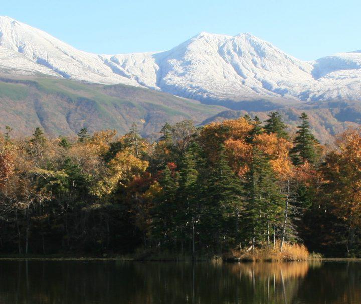 Eine unglaublich schoene Naturszenerie auf Hokkaido.
