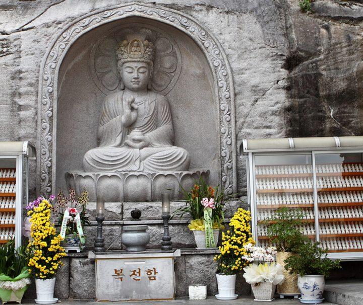 Der Myogaksa Tempel wurde 1942 von Taeheo Hongseon gegründet und liegt im Jongro Distrikt Seouls.