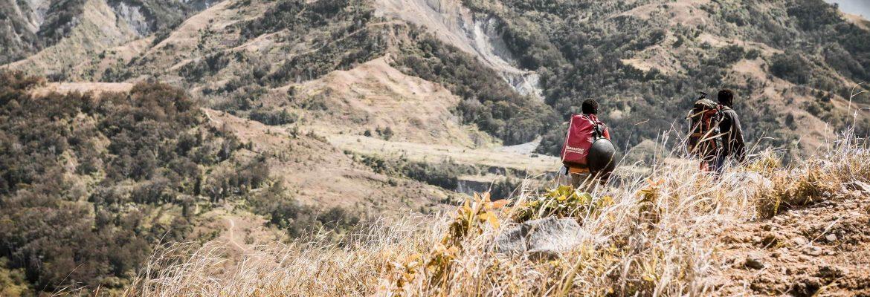 Wandern im Baliem Valley